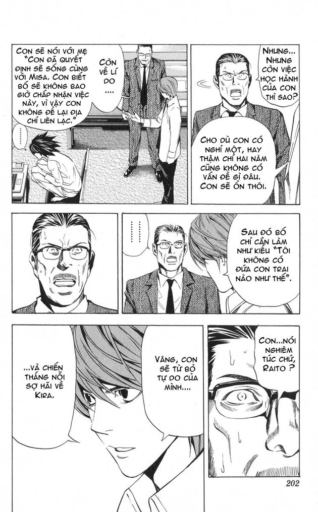 Death Note chapter 034 trang 21