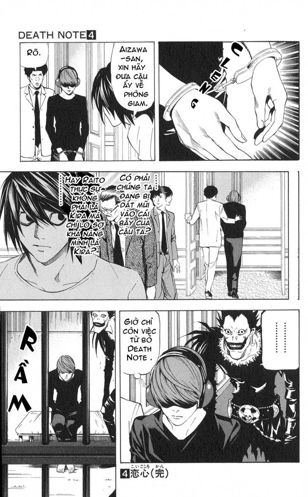 Death Note chapter 034 trang 22