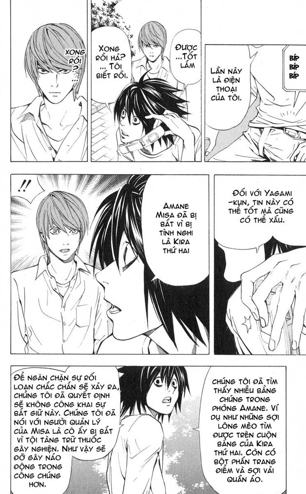 Death Note chapter 033 trang 5