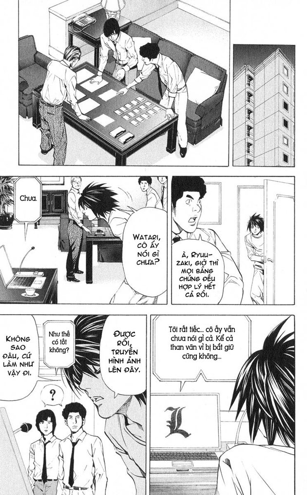 Death Note chapter 033 trang 8