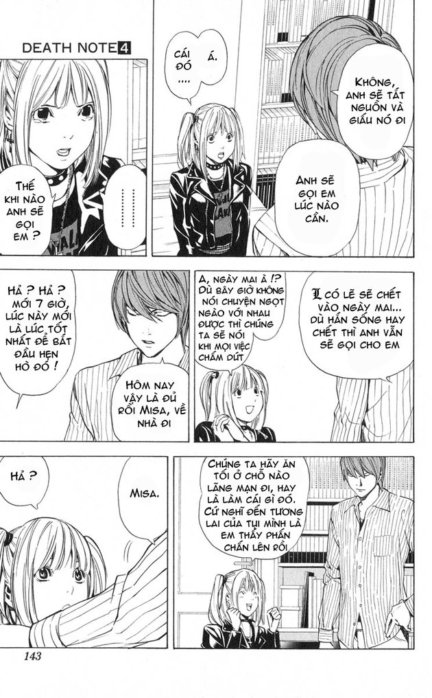 Death Note chapter 032 trang 4