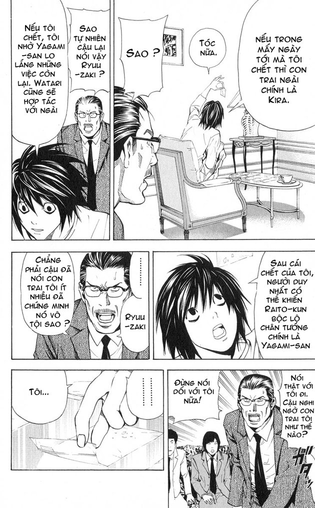 Death Note chapter 032 trang 9