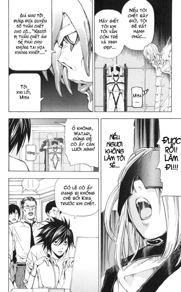 Death Note chapter 033 trang 17