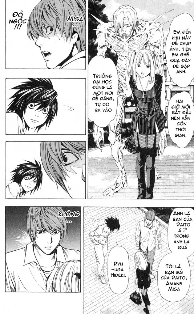 Death Note chapter 032 trang 15