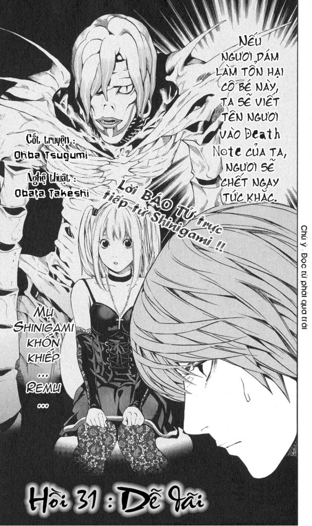 Death Note chapter 031 trang 2