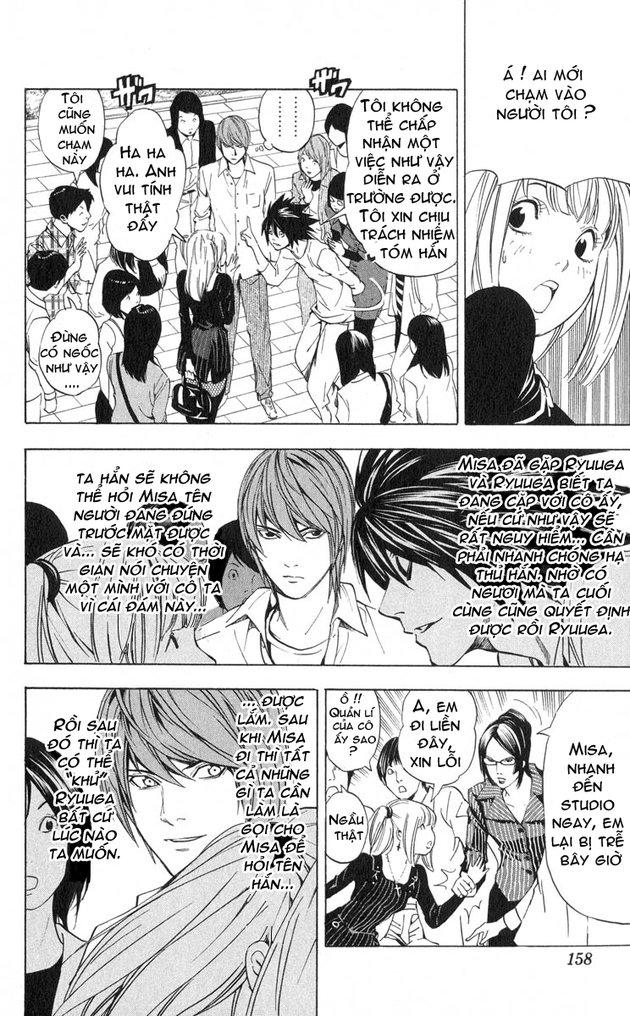 Death Note chapter 032 trang 19