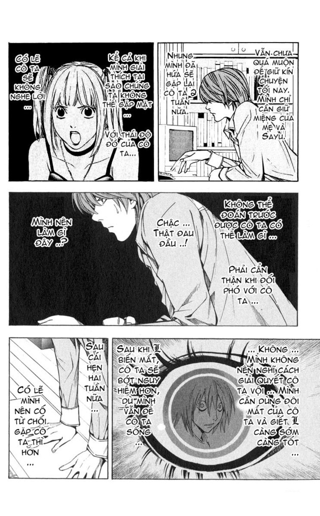 Death Note chapter 031 trang 5