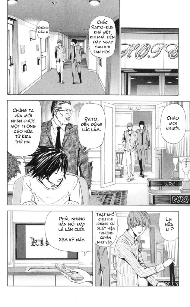 Death Note chapter 031 trang 9