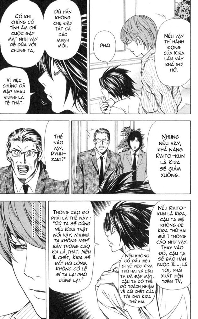 Death Note chapter 031 trang 12
