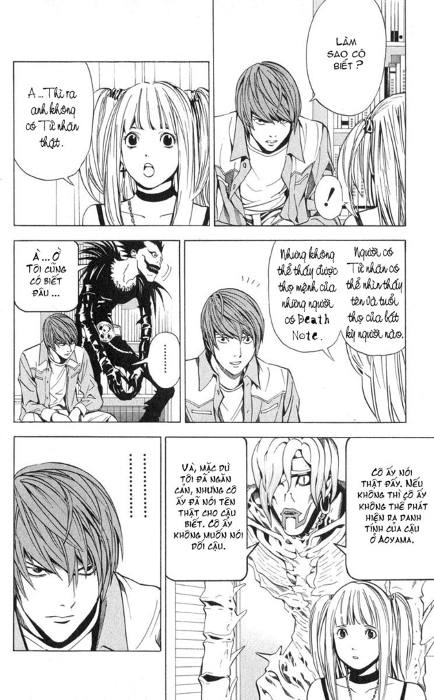 Death Note chapter 029 trang 13