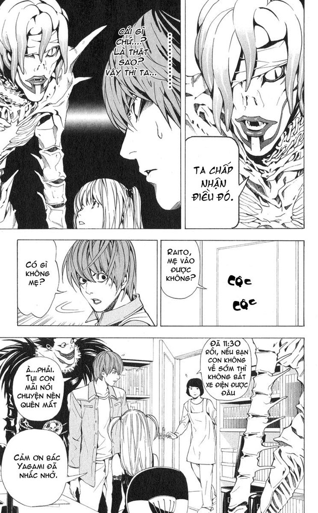 Death Note chapter 030 trang 20