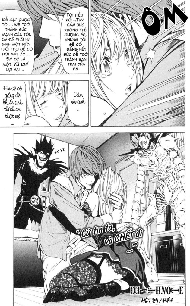 Death Note chapter 029 trang 22