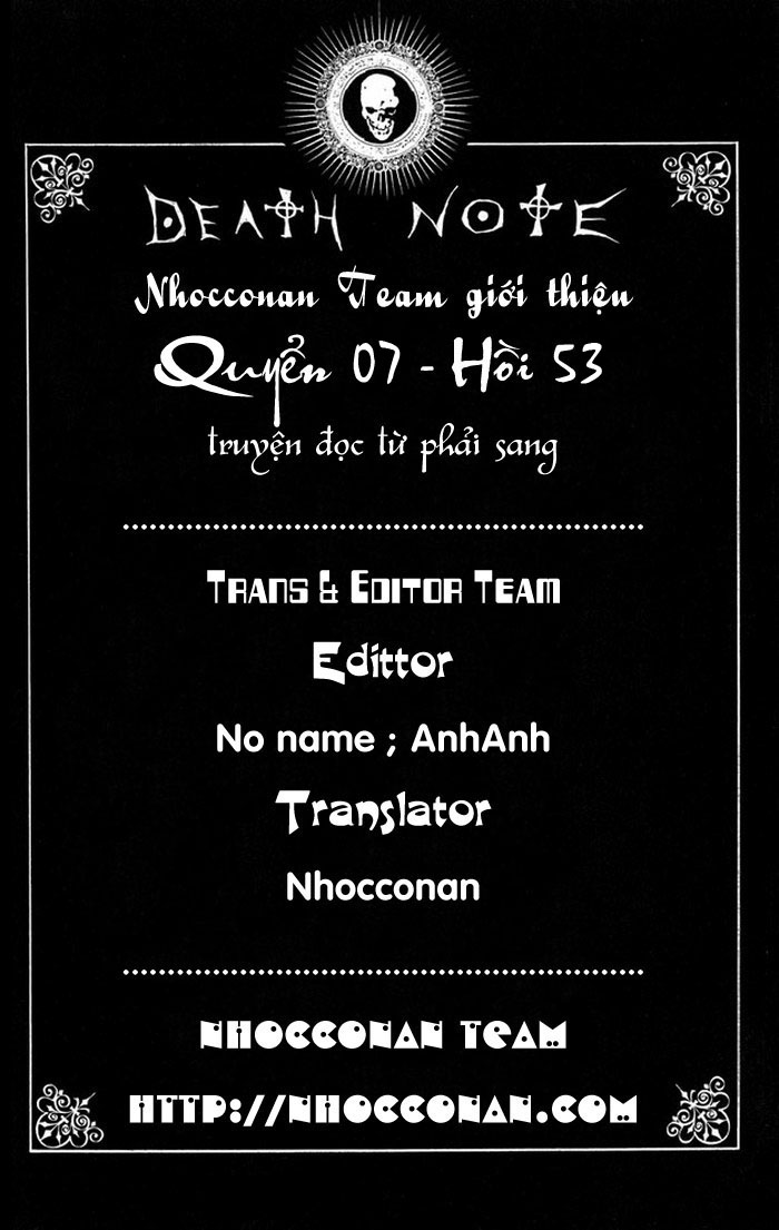 Death Note chapter 053 trang 1