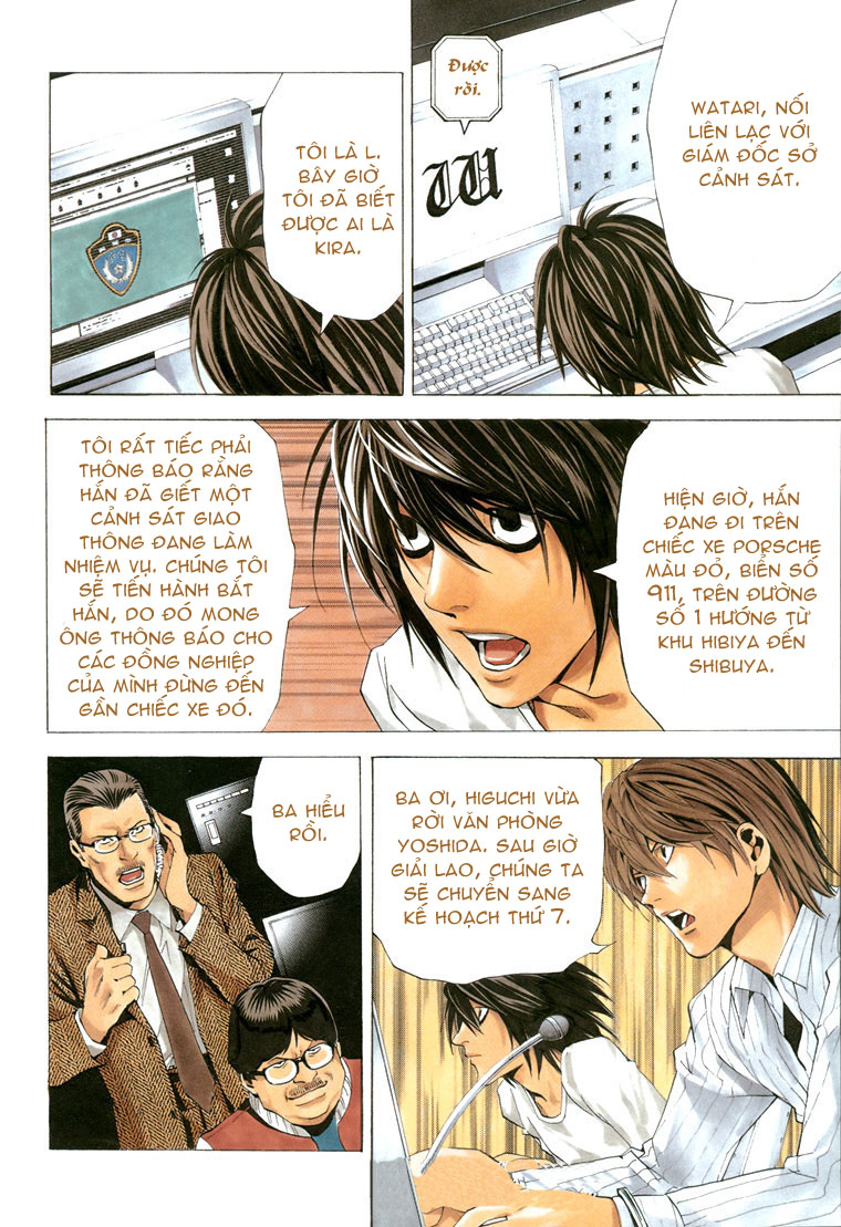 Death Note chapter 052 trang 4