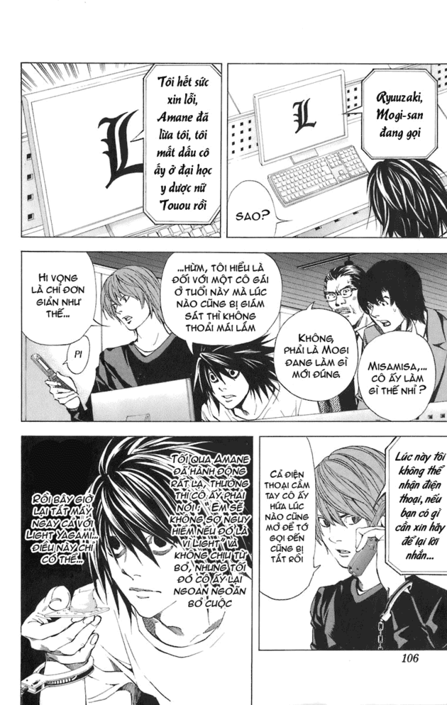 Death Note chapter 048 trang 13