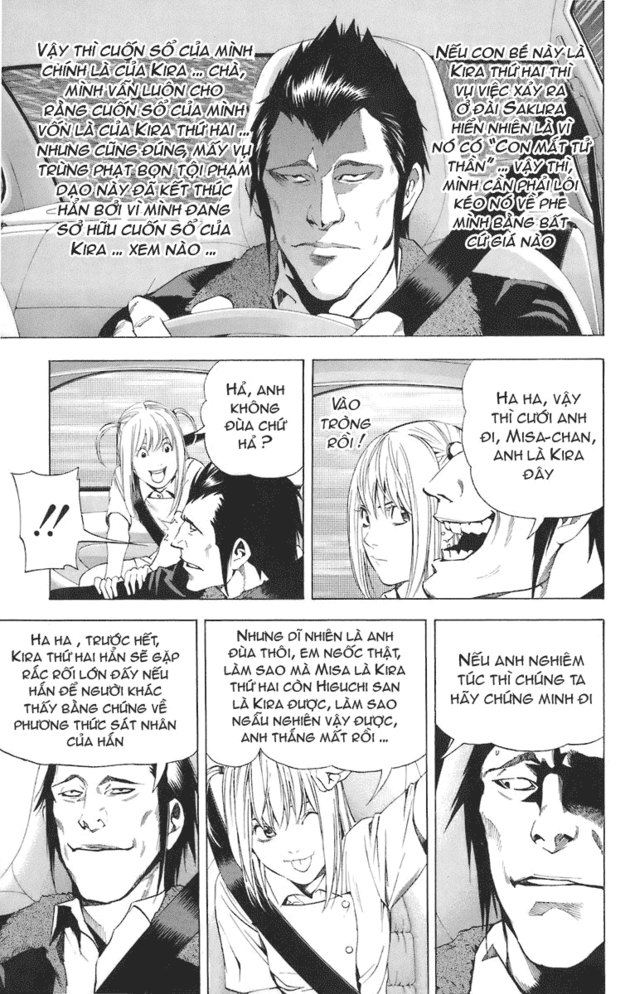 Death Note chapter 048 trang 16