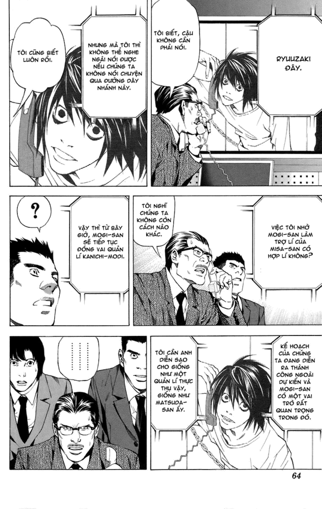 Death Note chapter 046 trang 12