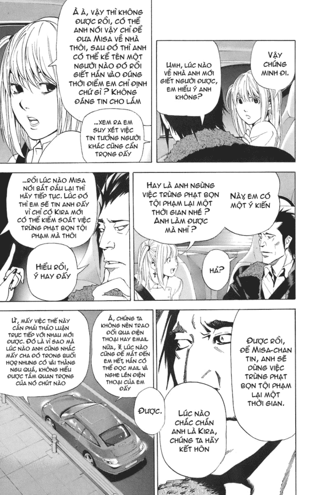 Death Note chapter 048 trang 19