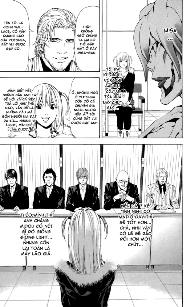 Death Note chapter 046 trang 15