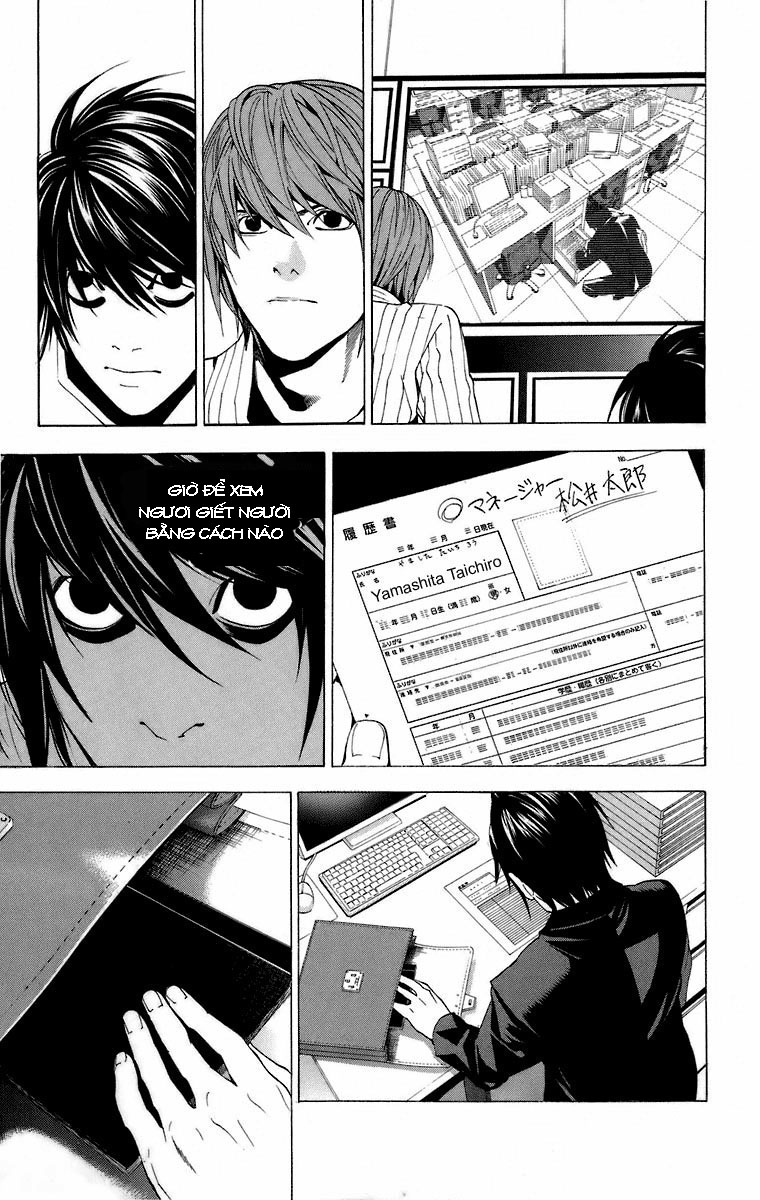 Death Note chapter 051 trang 11