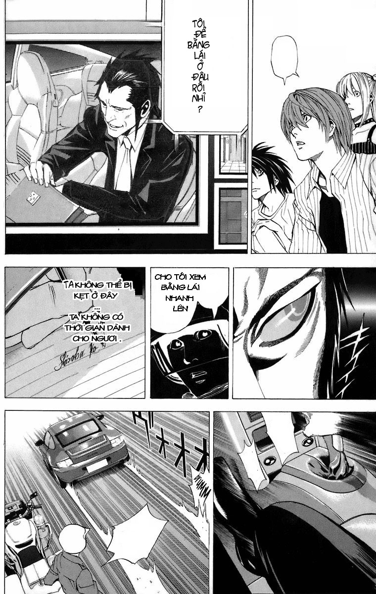 Death Note chapter 051 trang 18
