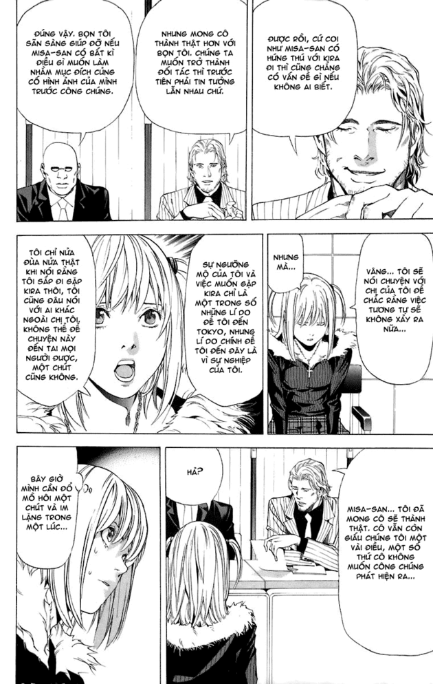 Death Note chapter 046 trang 18