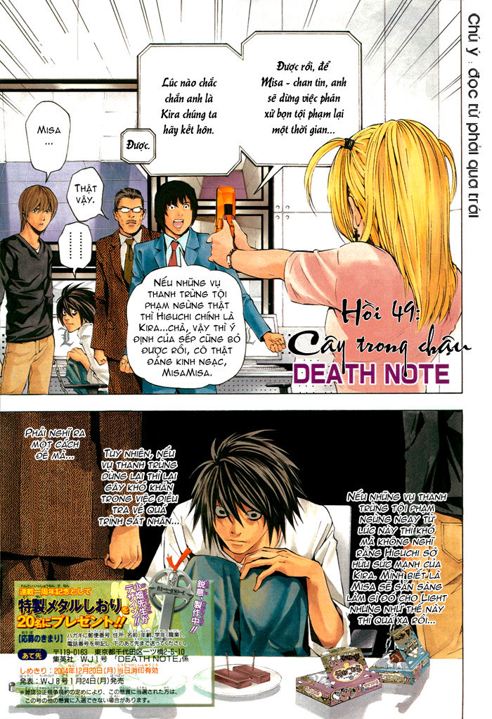 Death Note chapter 049 trang 2
