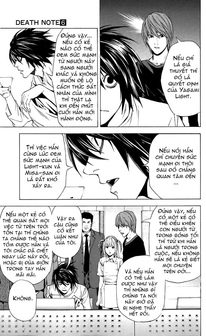 Death Note chapter 049 trang 14
