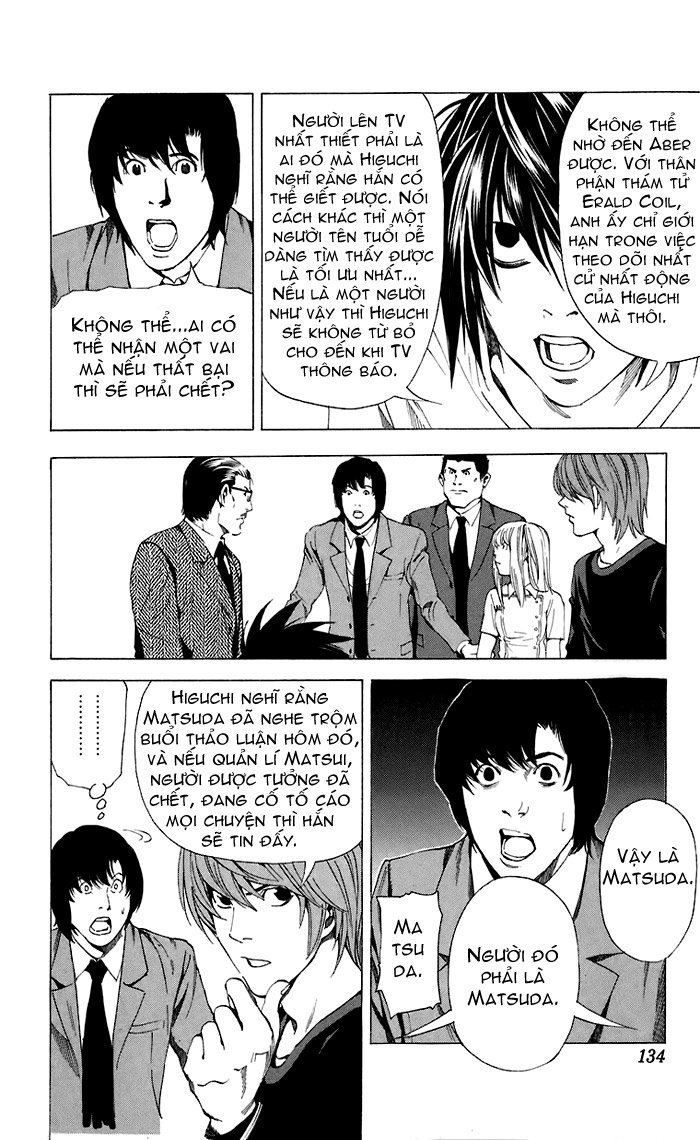 Death Note chapter 049 trang 17