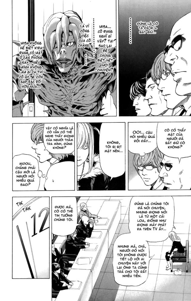 Death Note chapter 046 trang 20
