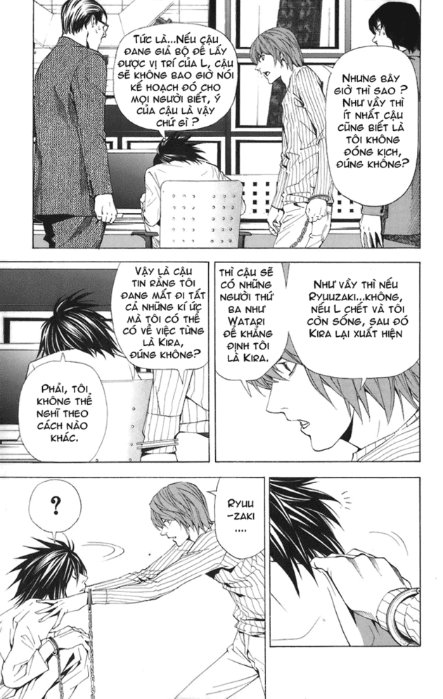 Death Note chapter 045 trang 5