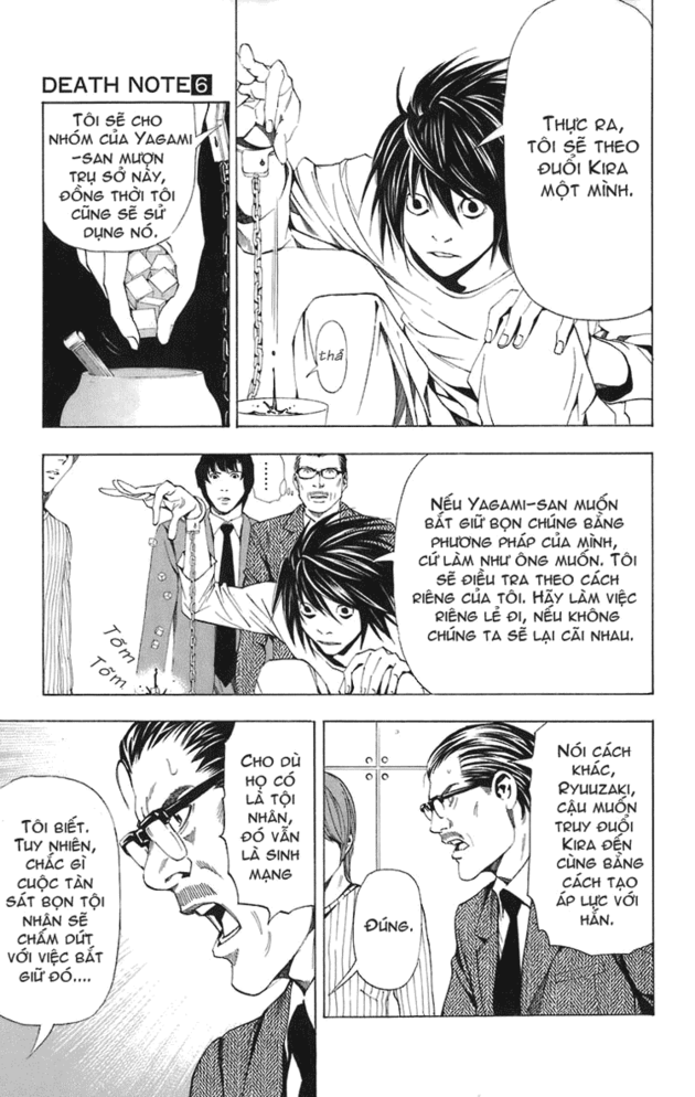 Death Note chapter 045 trang 10