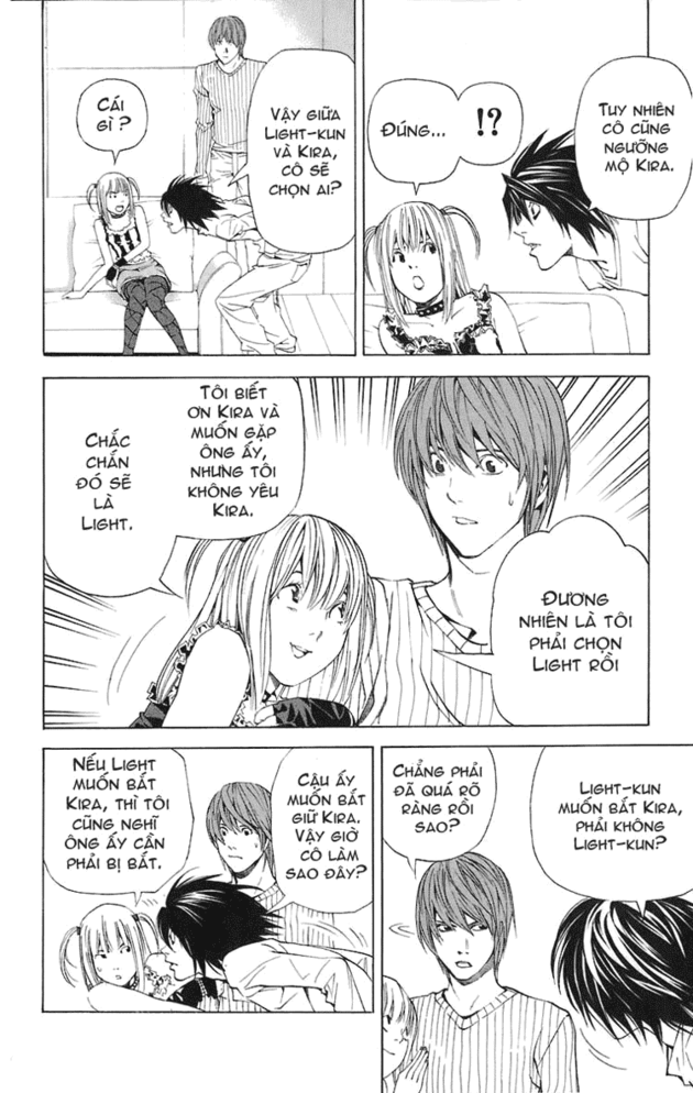 Death Note chapter 045 trang 13