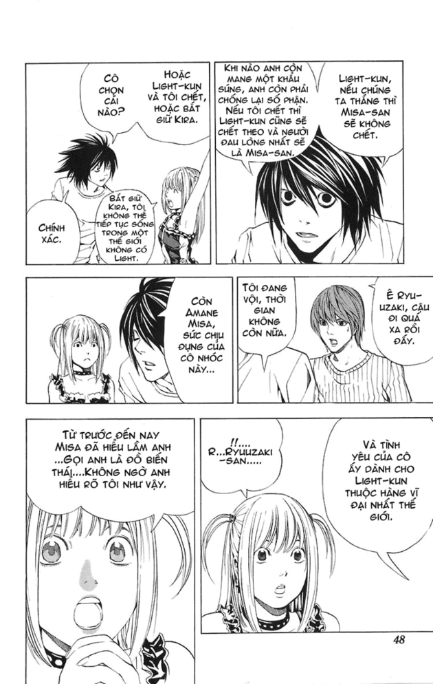 Death Note chapter 045 trang 19