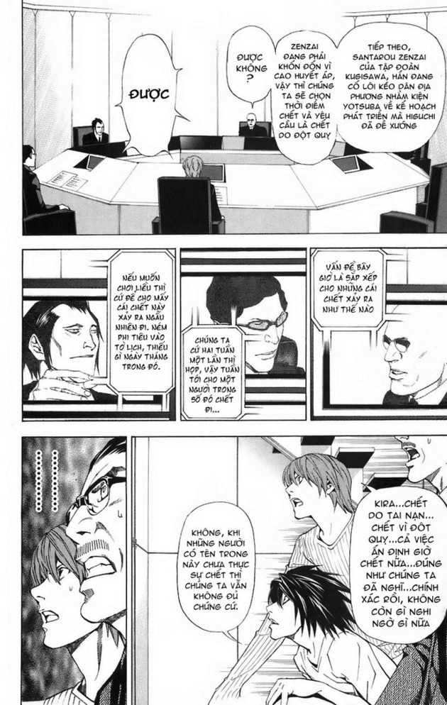 Death Note chapter 044 trang 11
