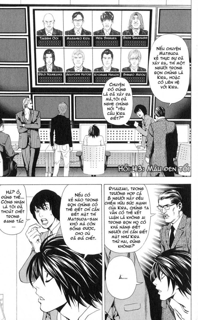 Death Note chapter 043 trang 2