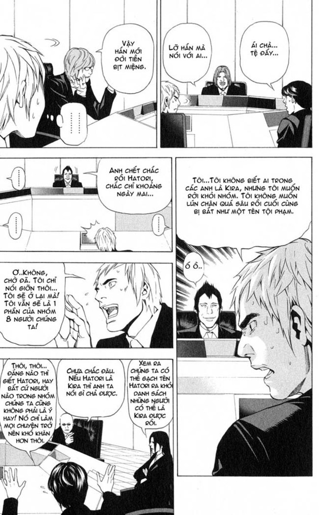 Death Note chapter 043 trang 10