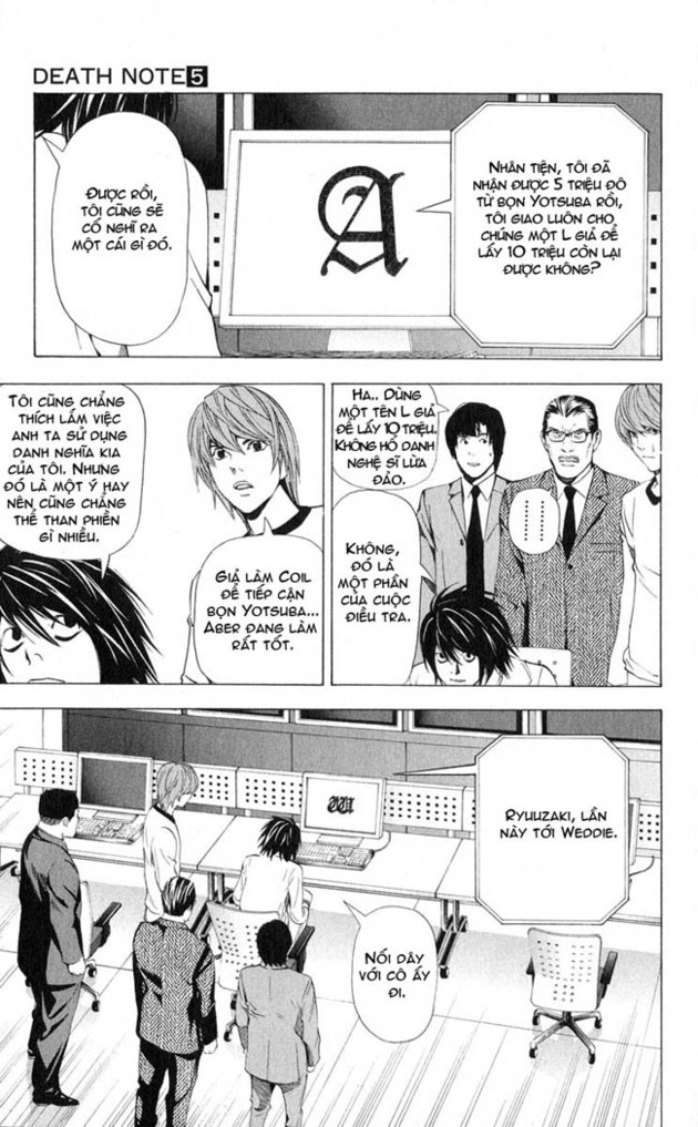 Death Note chapter 043 trang 20