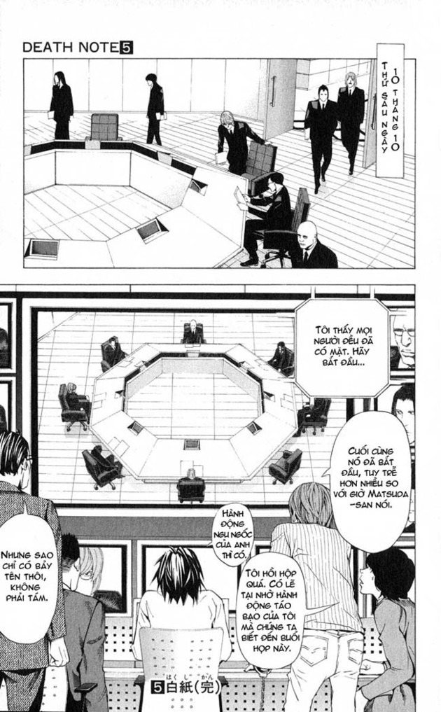 Death Note chapter 043 trang 22