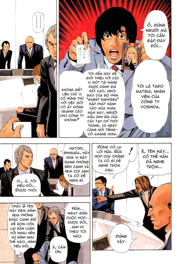 Death Note chapter 042 trang 4