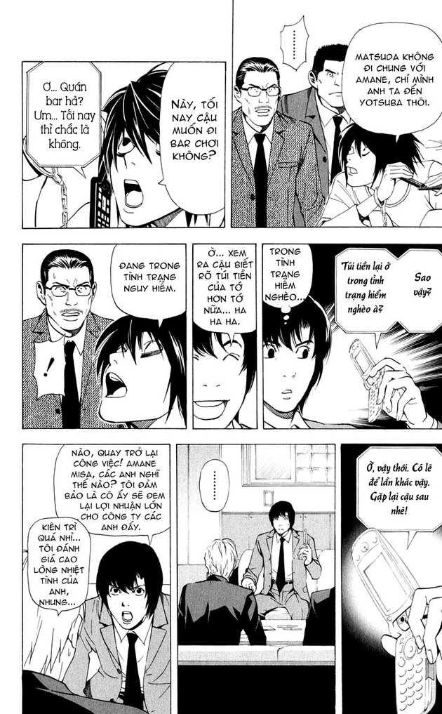 Death Note chapter 042 trang 8