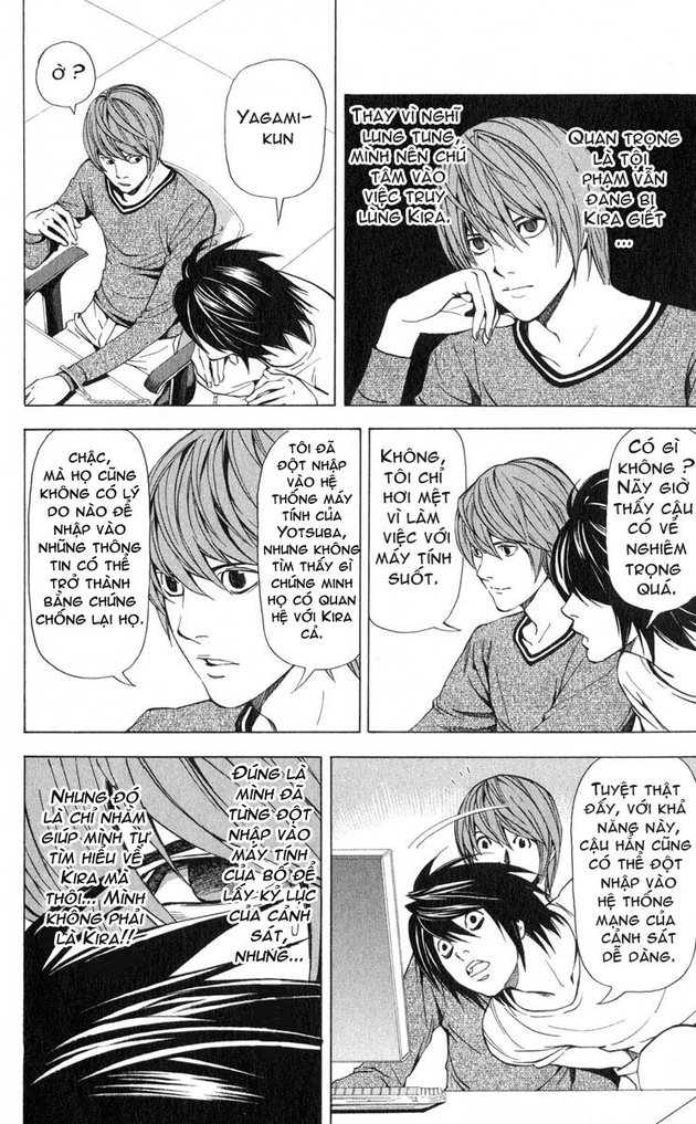 Death Note chapter 041 trang 7