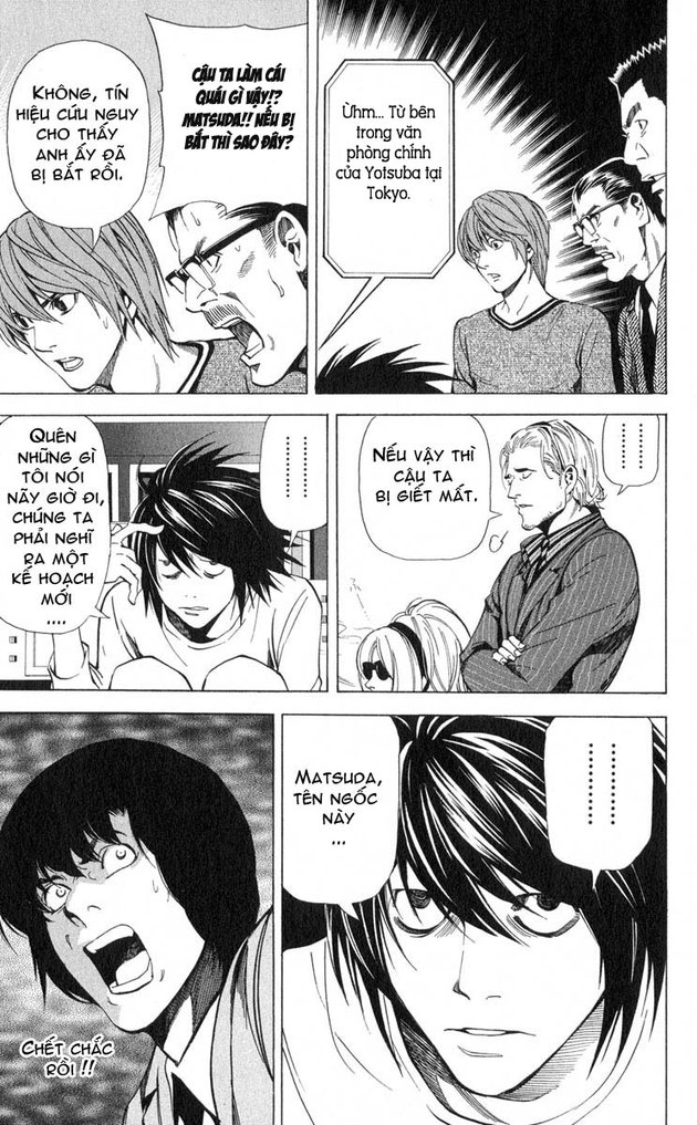 Death Note chapter 041 trang 20