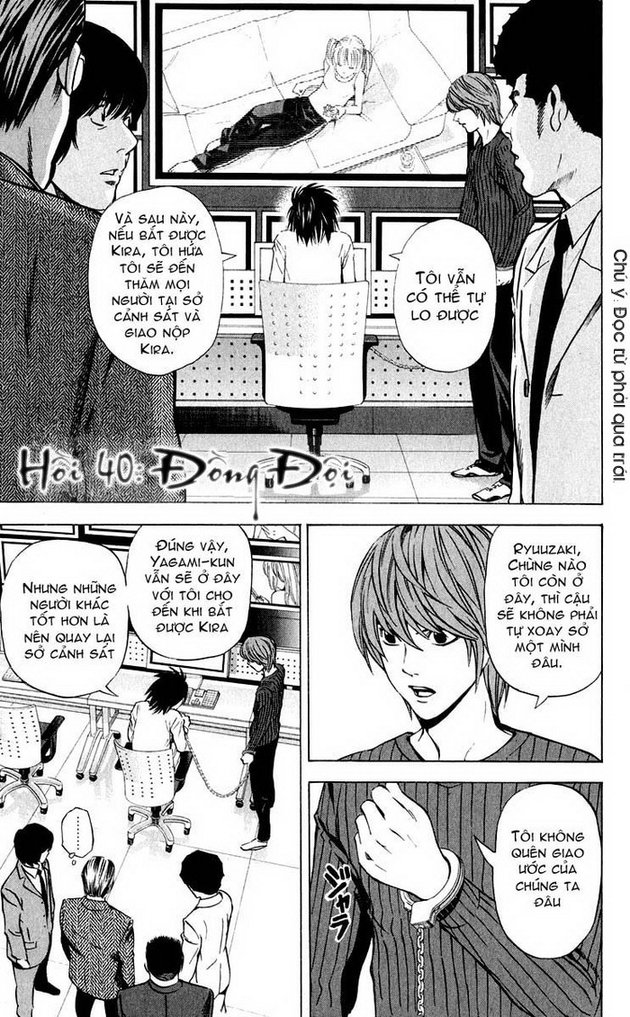 Death Note chapter 040 trang 2