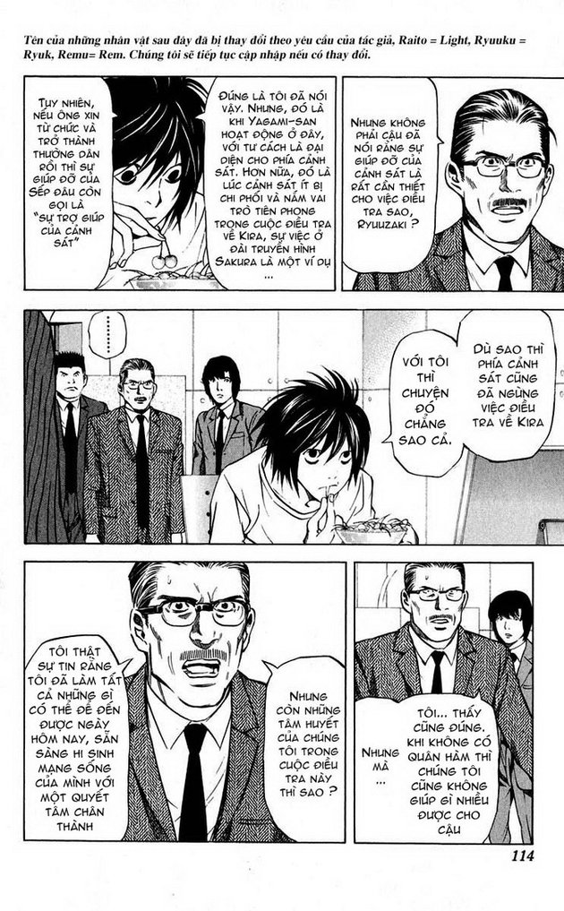 Death Note chapter 040 trang 3