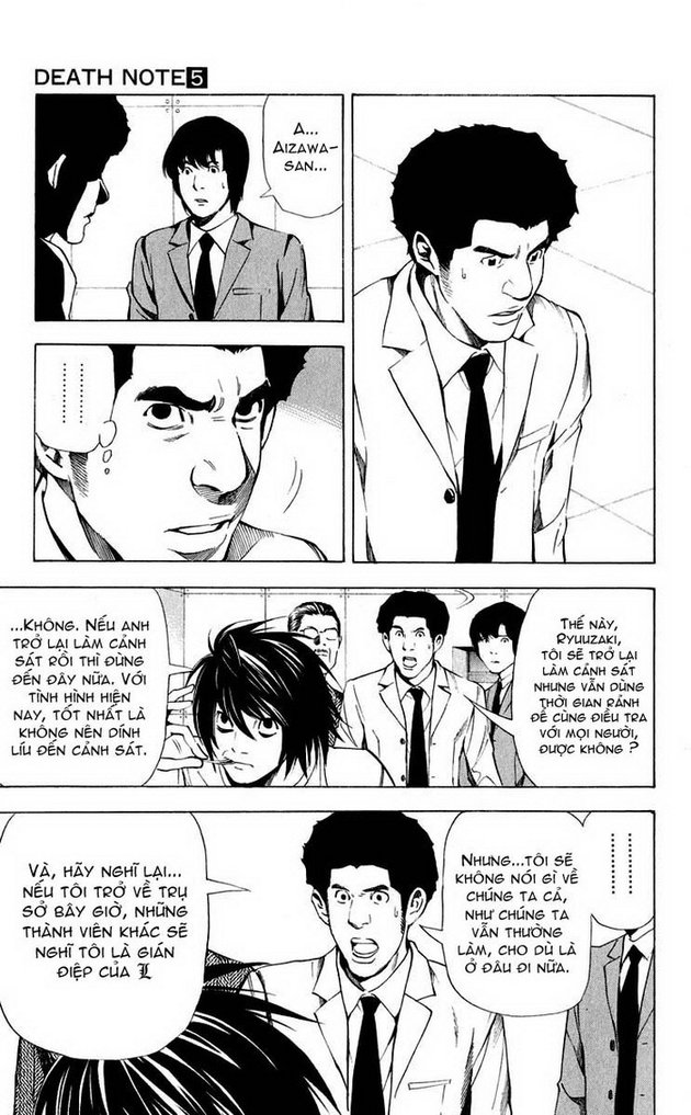 Death Note chapter 040 trang 6