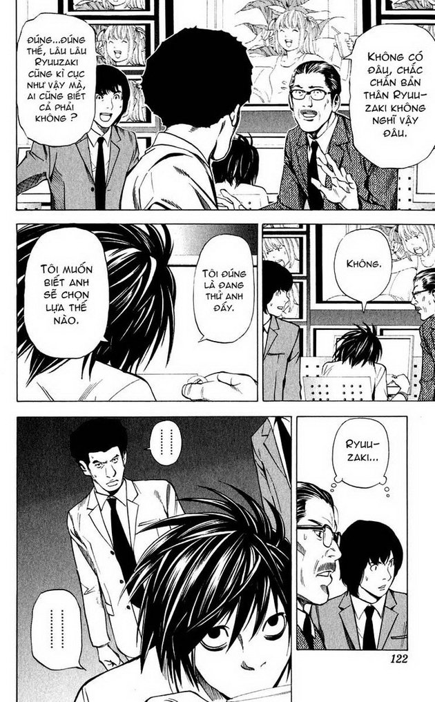 Death Note chapter 040 trang 11