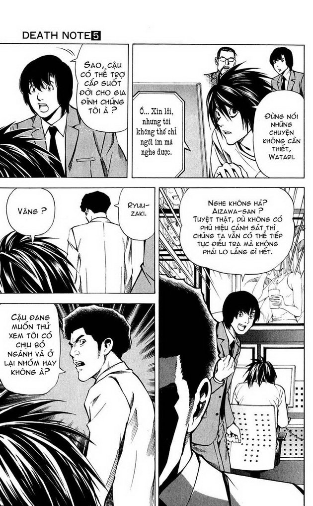 Death Note chapter 040 trang 10