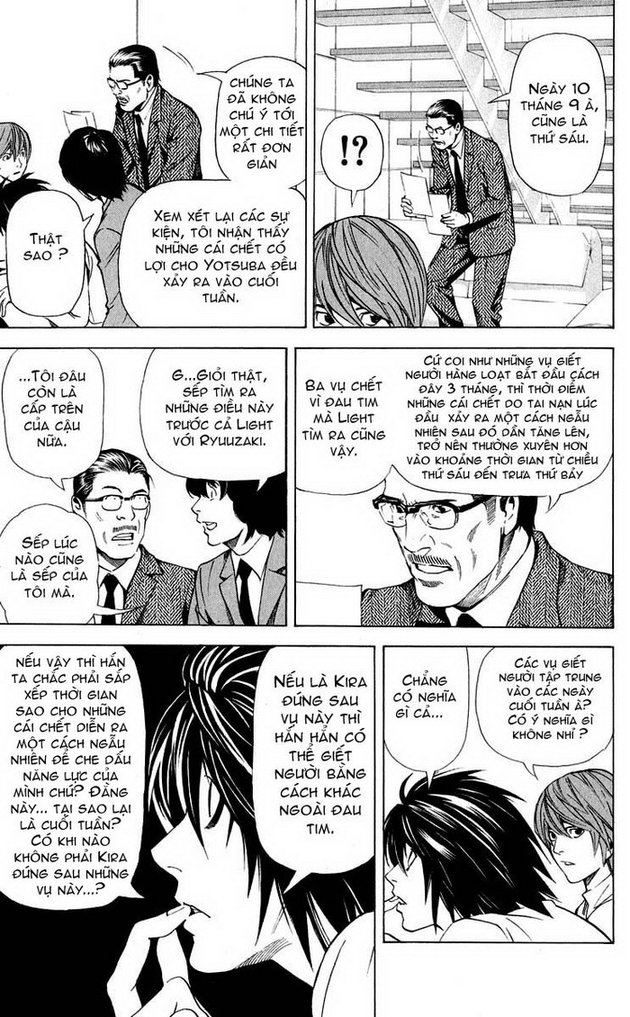 Death Note chapter 040 trang 14