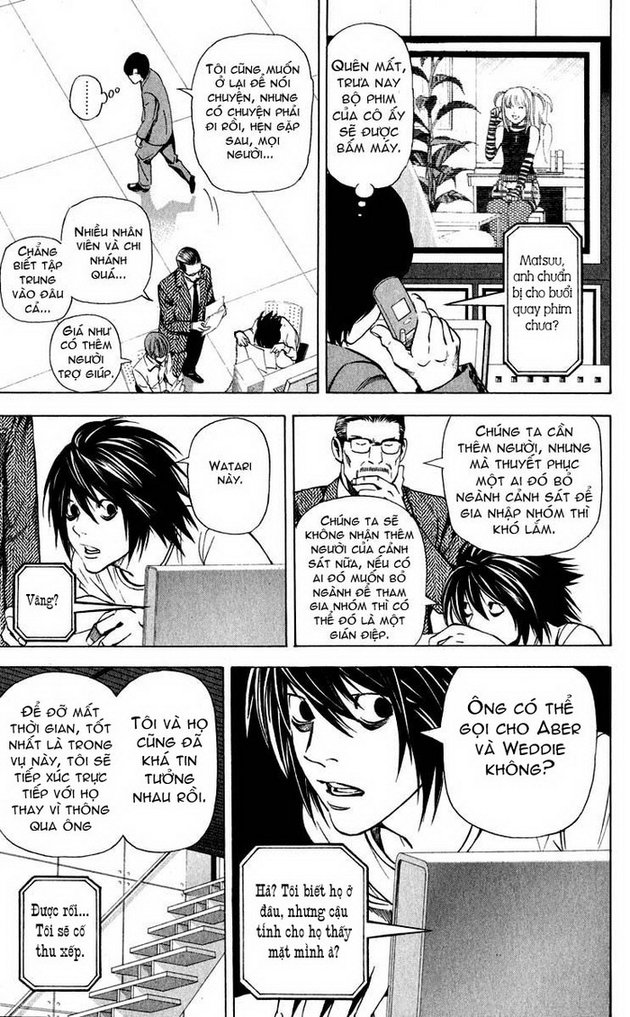 Death Note chapter 040 trang 16